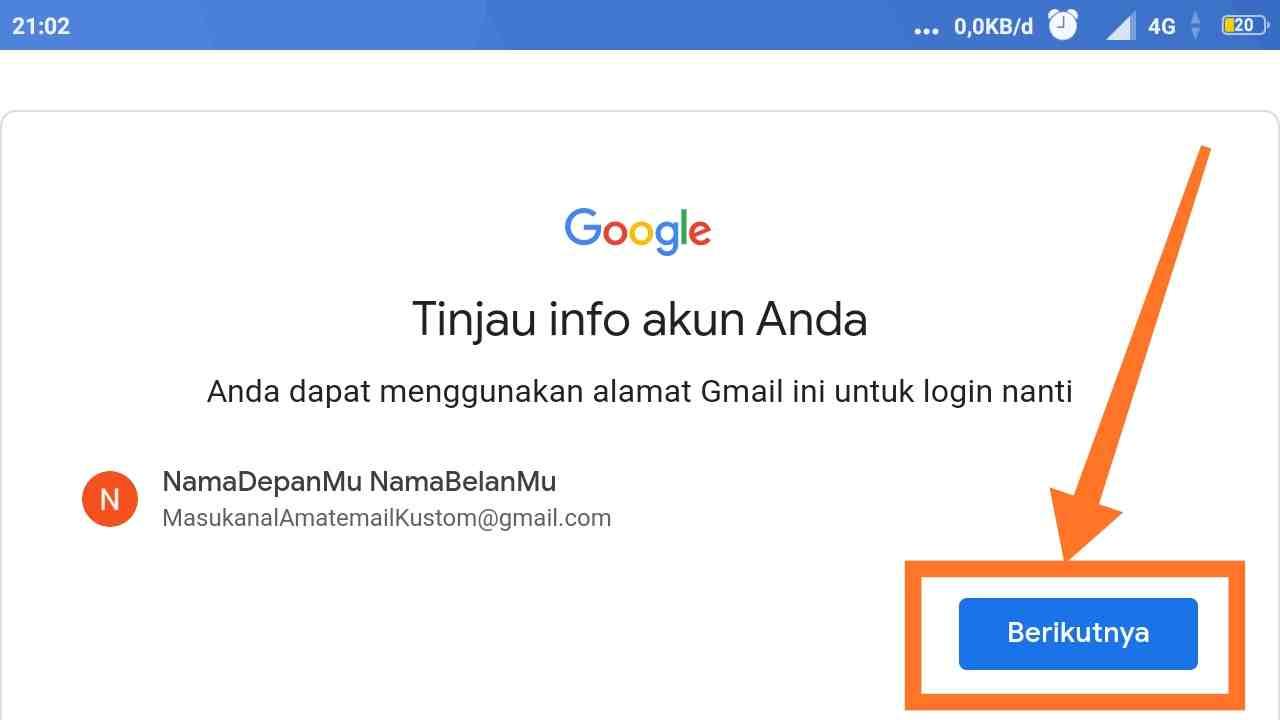 Cara Membuka kotak masuk Gmail di hp