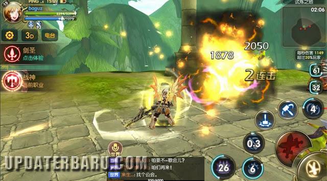 Dragon Nest Awake Mobile 龙之谷手游 APK Rilis Versi Terbaru Mod English