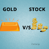 GOLD vs STOCK : Best Option to Invest in India.