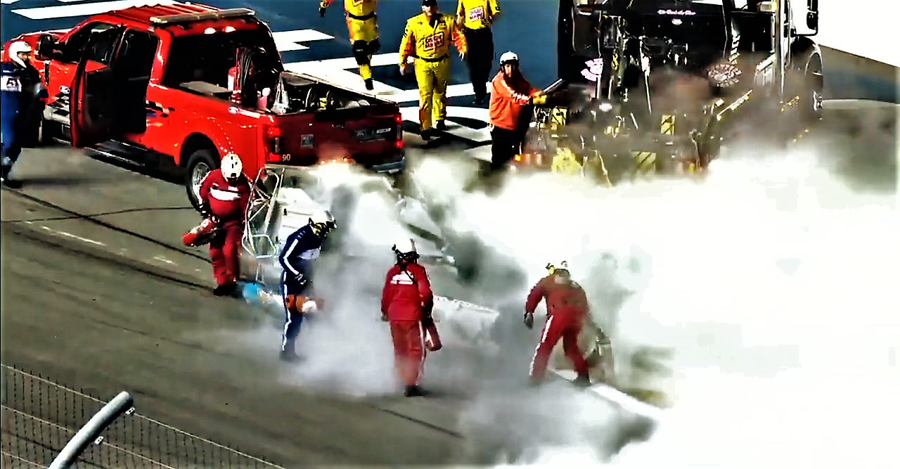Ryan Newman horrifying crash at Daytona 2020.