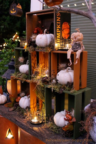 Halloween Folk Art by Melissa Valeriote: Harvest Home