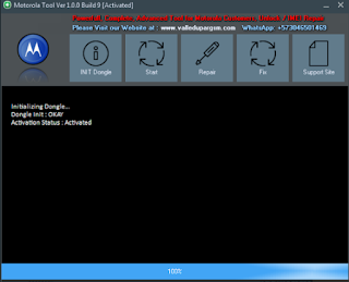 Motorola Tool Ver 1.0.0 Build 9 Activated Latest Tool