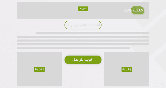 إضافة سكريبت صفحة حماية الروابط لمدونات بلوجر