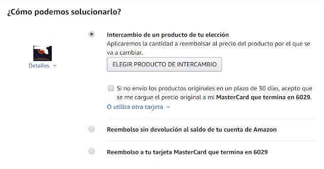 Como devolver un producto en Amazon
