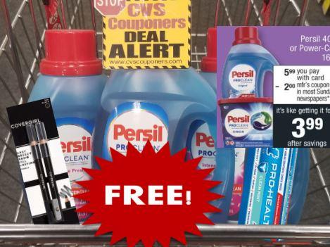 FREE Persil CVS Coupon Deal 9-20-9-26