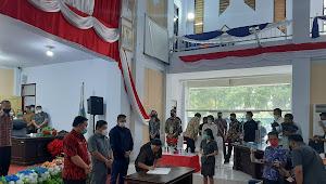 DPRD Minut Selesai Paripurna Penetapan Pengumuman JG-KWL Jadi Bupati dan Wakil Bupati 2021-2026 Hasil Pilkada