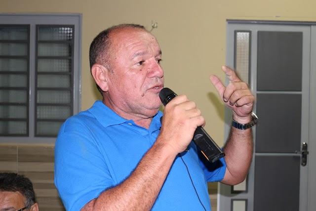 Trajano Paulo de volta a política em Passagem Franca