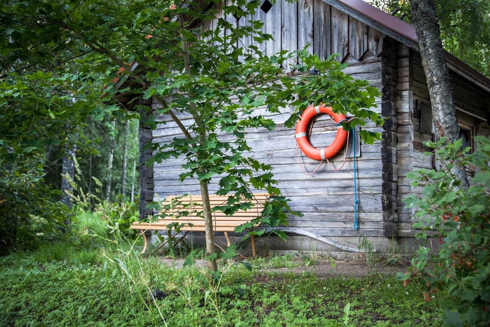 saunarakennus Kortejärvi