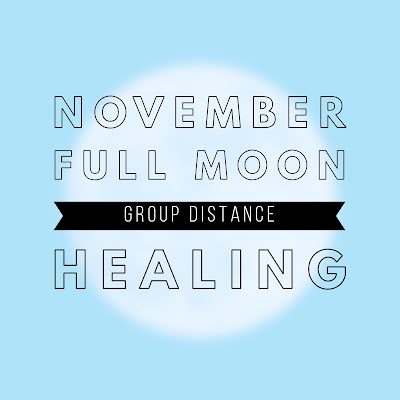 November Full Moon Group Healing