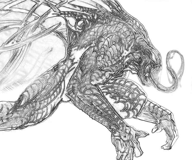 spiderman vs venom coloring pages to print   The Amazing Spider-Man Lizard Character   Yumiko Fujiwara
