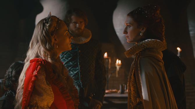 Fotograma de la nueva serie de TVE, 'Reinas'