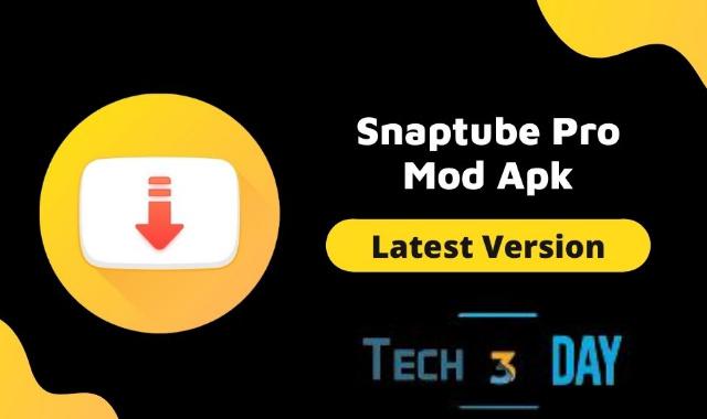 تحميل SnapTube (MOD Unlocked No Ads) التطبيق الأول في مجاله لتحميل الفيدوهات من مختلف المنصات
