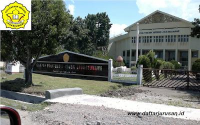 Daftar Jurusan dan Program Studi PNL Politeknik Negeri Lhokseumawe Aceh