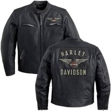 Gambar Jaket Kulit Harley Davidson