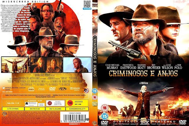 Capa DVD Criminosos E Anjos