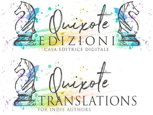 Uscite editoriali delle case editrici Quixote Edizioni e Quixote Translations dal 17 al 23 Giugno   Presentazione