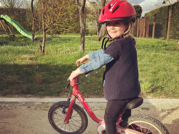 Les règles pour apprendre à faire du vélo sans petites roulettes