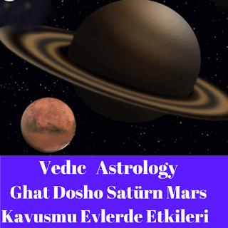 Ghat Dosha Evlerde Satürn ve Mars kavuşum etkileri