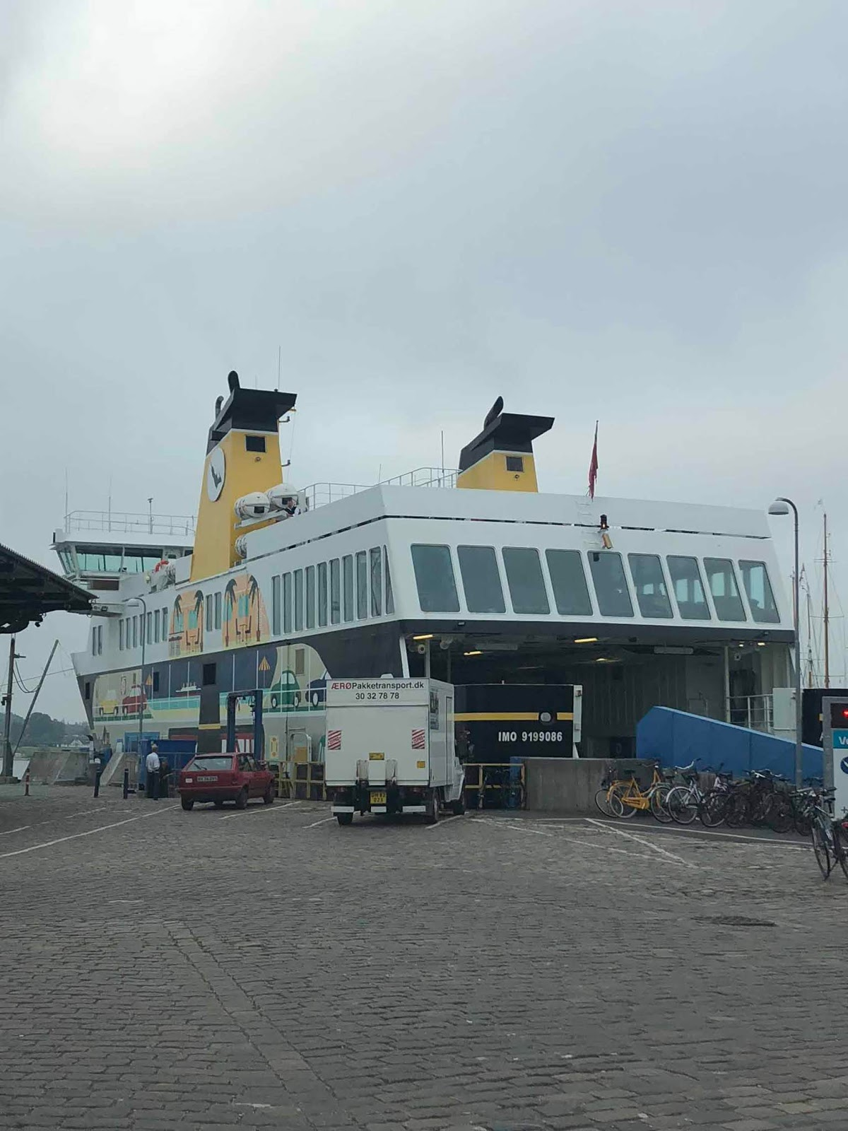Ærøfærgerne Svendborg satama