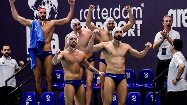 Πόλο: Τεράστια επιτυχία για την Εθνική ανδρών - Προκρίθηκε στους Ολυμπιακούς Αγώνες