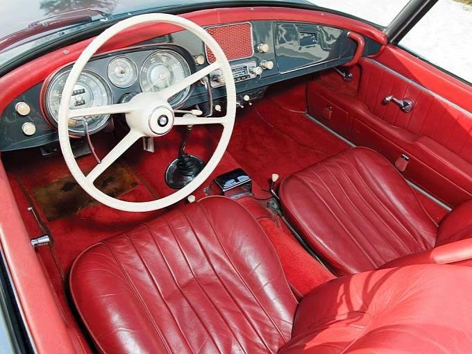 1958 Bmw 507 Series Ii Roadster Auto Restorationice