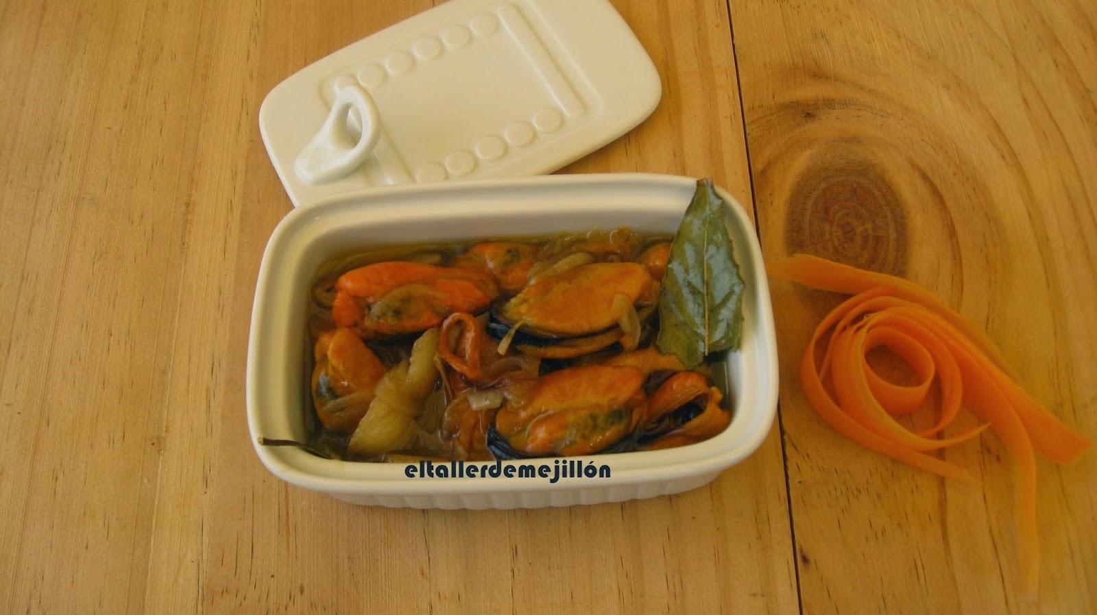 El Taller De Mejillon Mejillones En Escabeche Con Zanahoria Y Cebolla Recetas de zanahoria en escabeche 628. el taller de mejillon blogger
