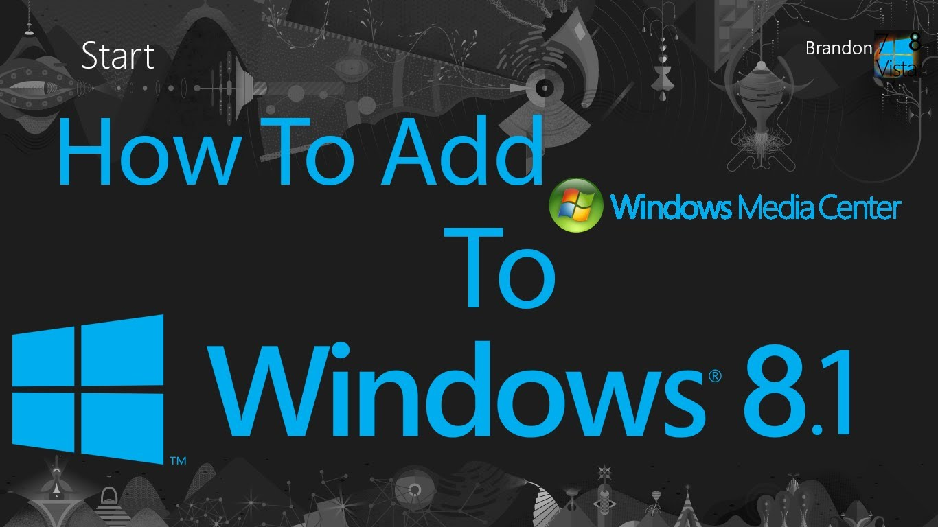 Upgrade Windows 8 1 Pro With Media Center From Windows 8 1