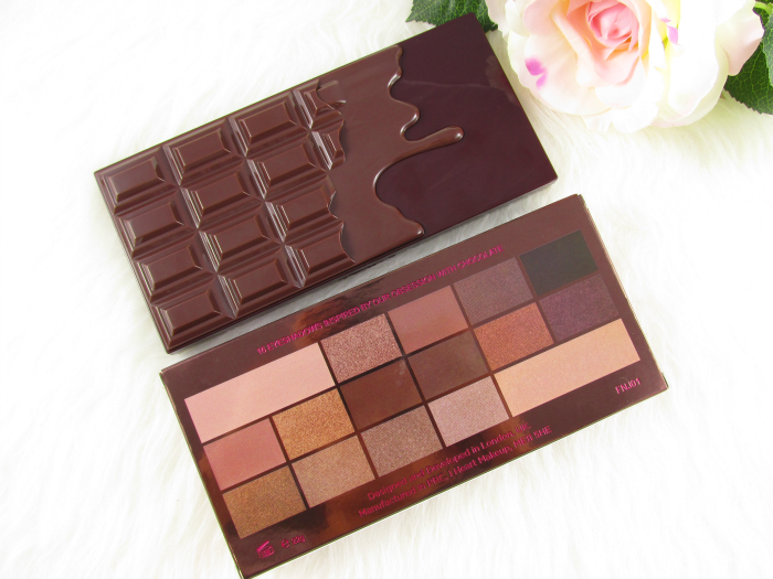 Review & Swatches: Makeup Revolution - I Heart Makeup - Death by Chocolate Eyeshadow Palette