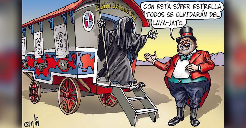 Carlincaturas Jueves 02 Noviembre 2017 - La República