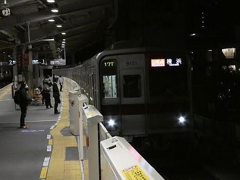 【ダイヤ改正で登場!】東武9000系の急行 横浜行き