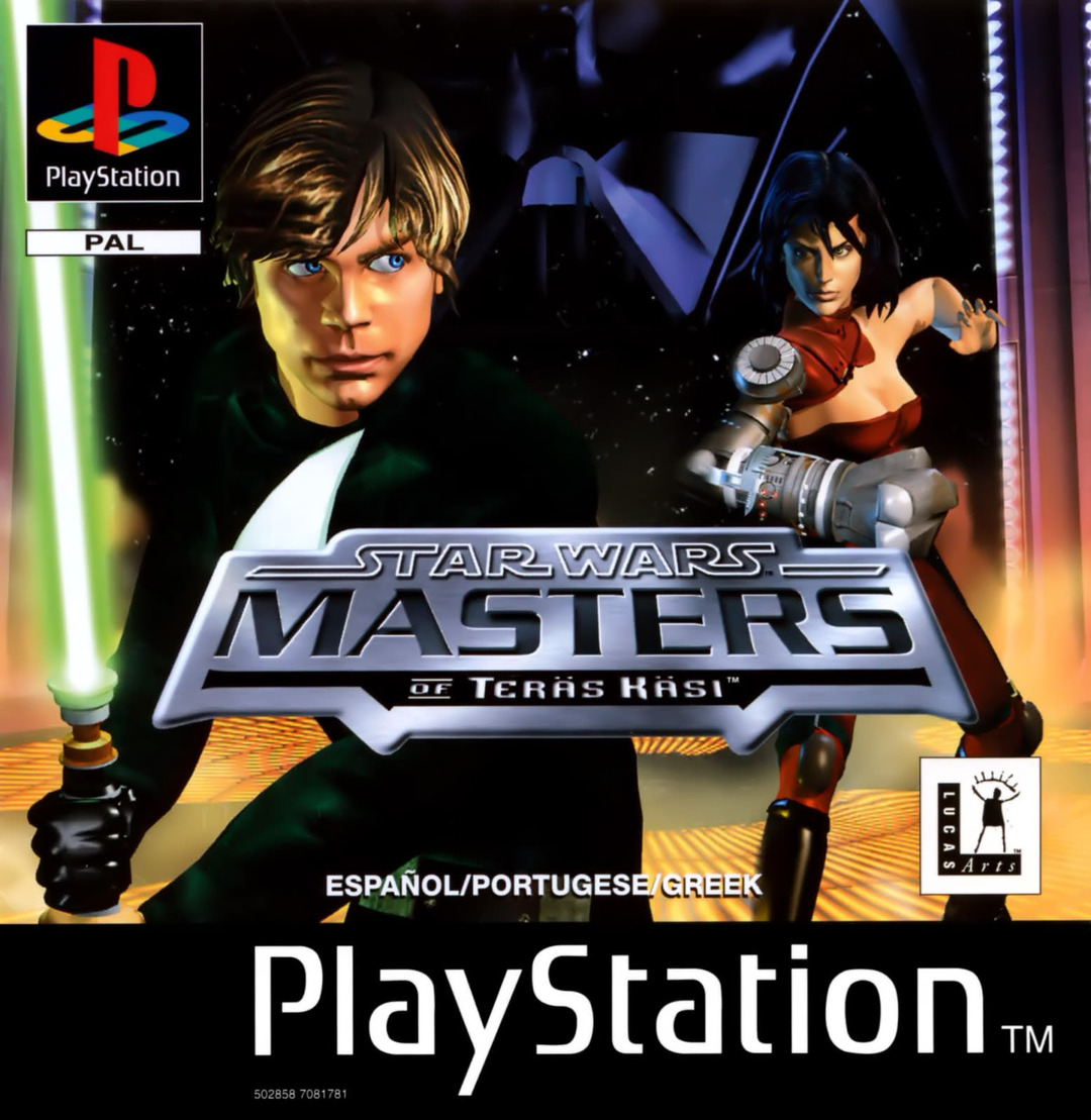 Star Wars - Masters Of Teras Kasi  - PS1 - ISOs Download