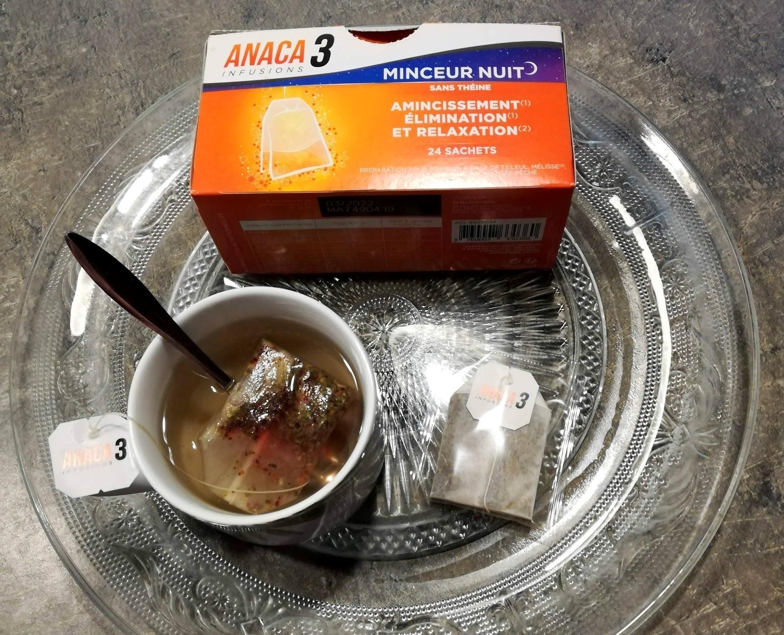 J'ai testé les infusions naturelles minceur et brûle-graisses ANACA3 ☕ Code promo