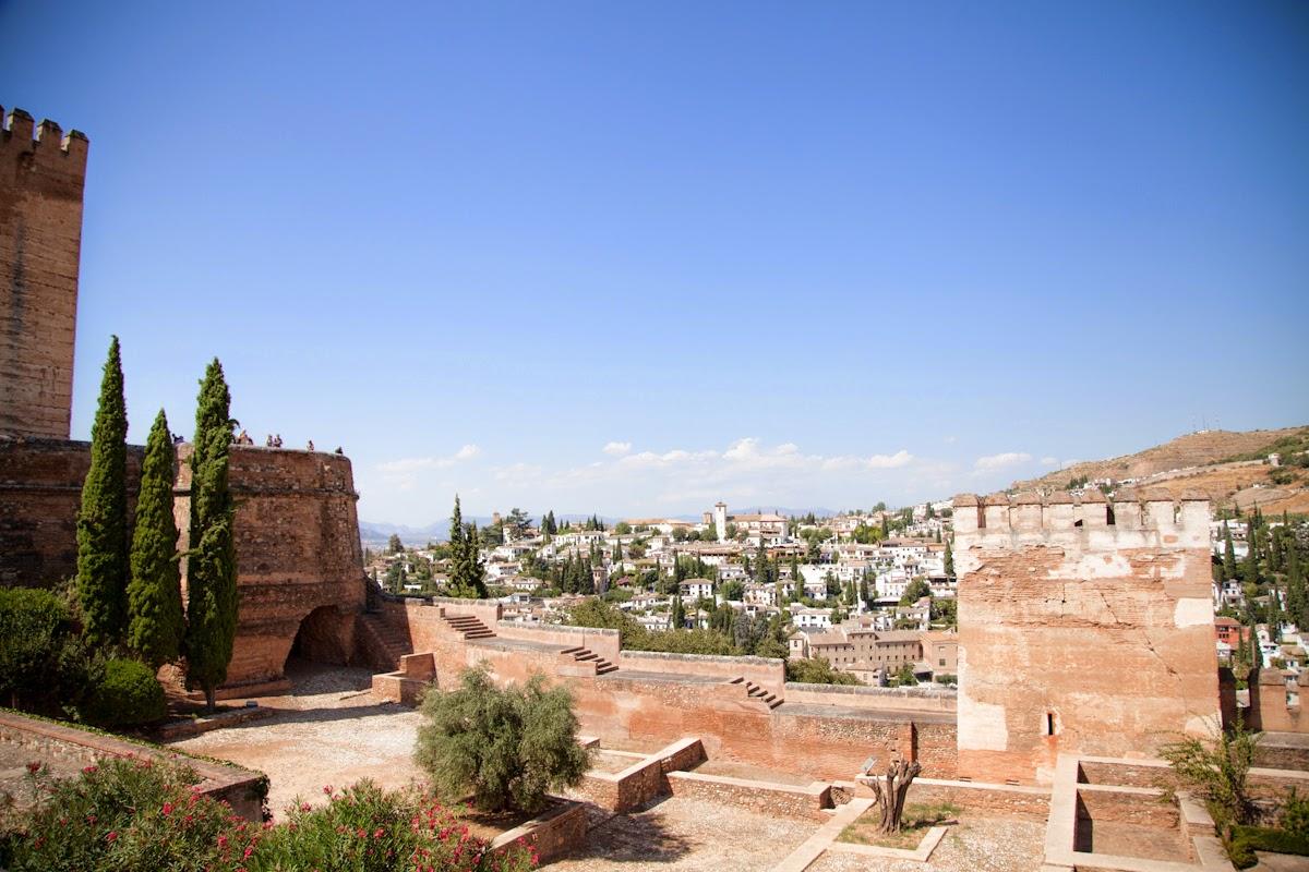Murallas Alhambra de Granada