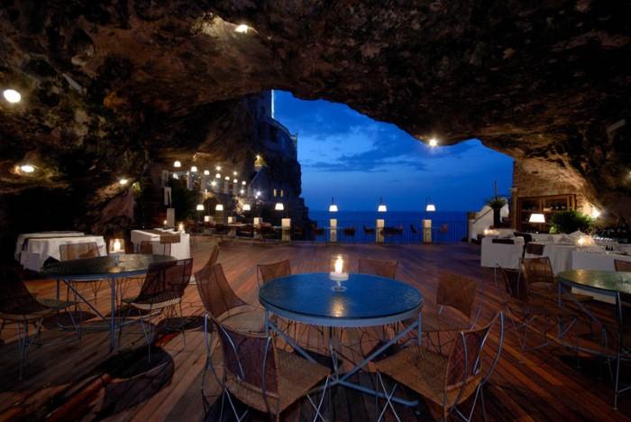 Grotta Palazzese - ресторан у моря 4