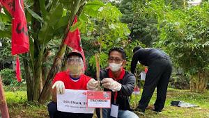 Peringati HUT Partai Ke-48, DPC PDI Perjuangan Kab. Bekasi Tanam 4800 Bibit Pohon