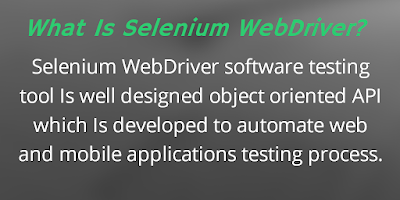 What Is Selenium WebDriver?