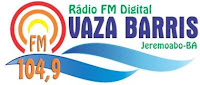 Rádio Vale do Vaza Barris FM 104,9 de Jeremoabo BA