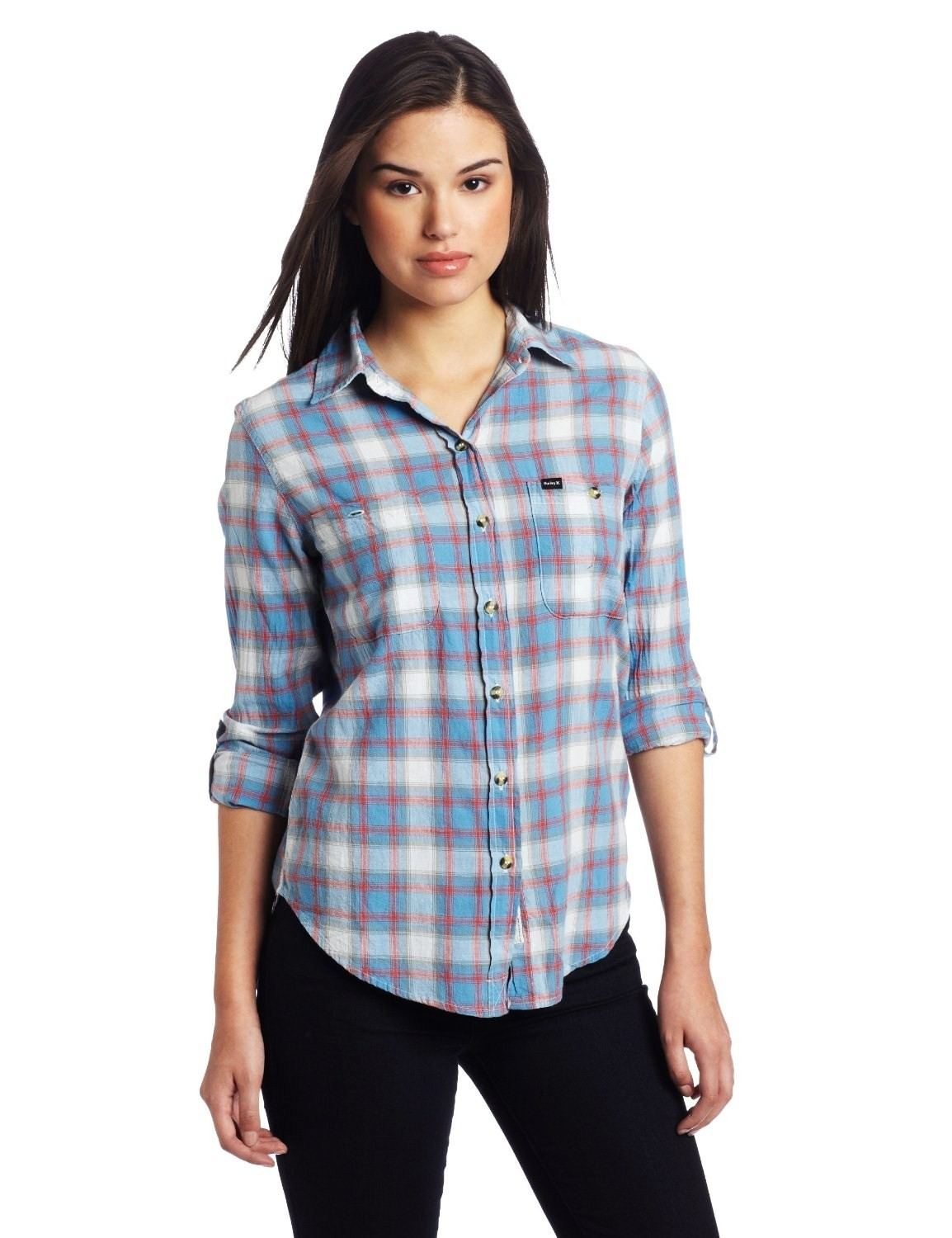 Gap women's flannel shirts have been updated to give women a feminine, refined silhouette. Not your grandfather's shirts, our flannel shirts for women are constructed to fit and flatter a woman's shape.