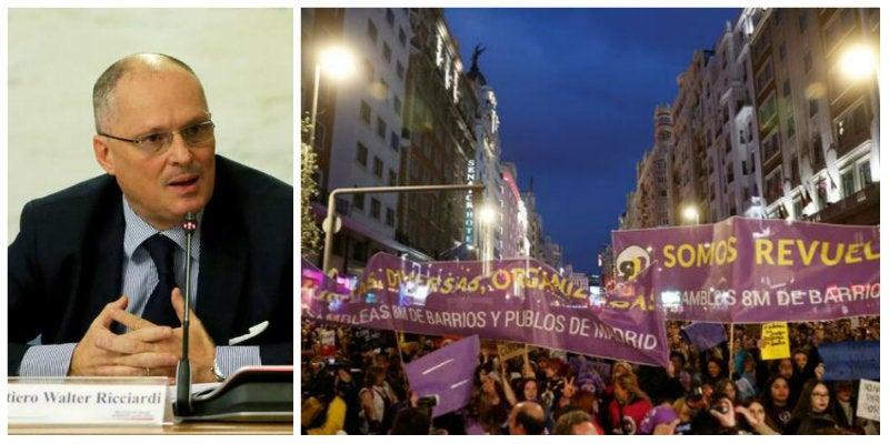 Feminismo suicida del Gobierno español: «Fue una locura permitir el 8-M»
