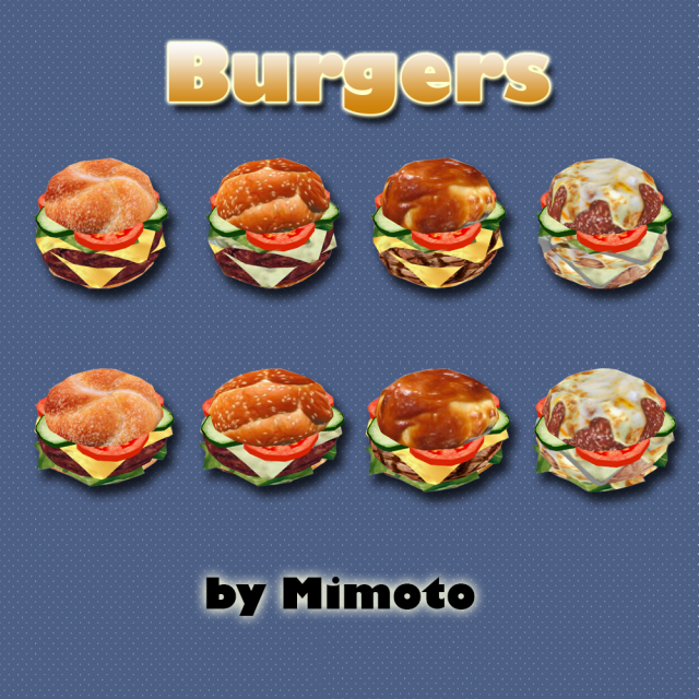 My sims 4 blog ts2 decorative food conversions by mimoto - Decoratie snack ...