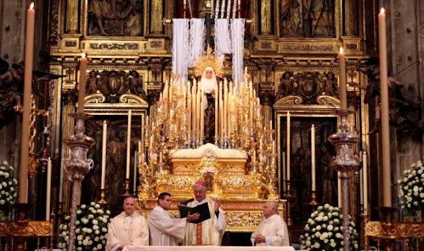 La Soledad de Sevilla despedirá la Semana Santa de 2021 desde el altar mayor de San Lorenzo
