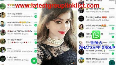 Join 1700+ Girls Latest Whatsapp Group Link List 2020