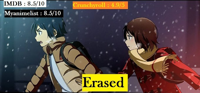 Download Erased Anime all episode in Hindi