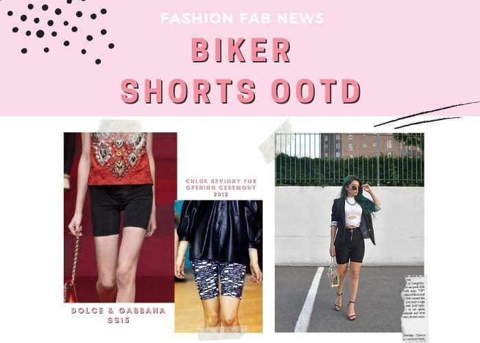 Biker Shorts Outfit Fashion Blogger NYC Cycle Shorts Runway