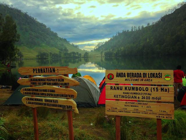 Wisata Danau Ranu Kumbolo Beserta Tips Backpacker