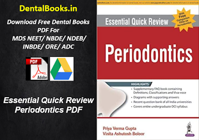 Essential Quick Review Periodontics PDF