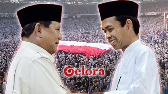 UAS Dukung Prabowo, Komando Ulama untuk Seluruh Rakyat