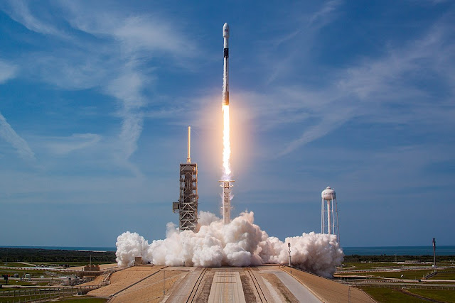 Image Attribute: Bangabandhu-1 Launch from LC-39A, Kennedy Space Center/ Source: Official SpaceX Photos (CC0)