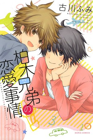 Kashiwagi Brothers' Love Affair Manga