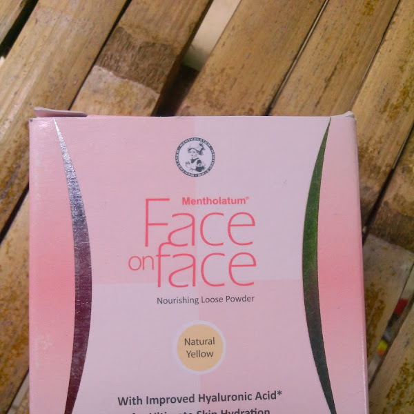 Review Face On Face Loose Powder (Natural Yellow)